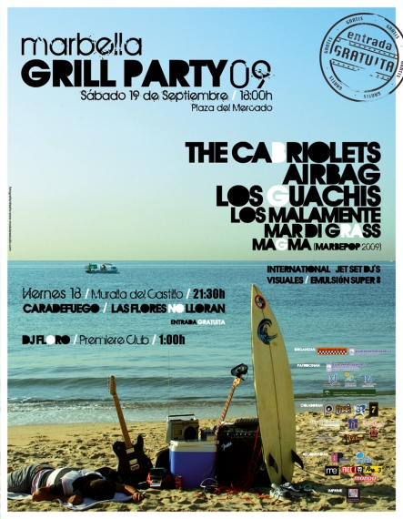 Cartel GRILL  internet
